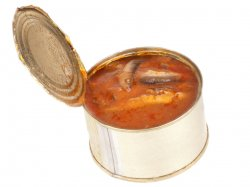 Килька консервированная в томатном соусе