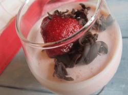 Десерт «Сливочная клубничка»
