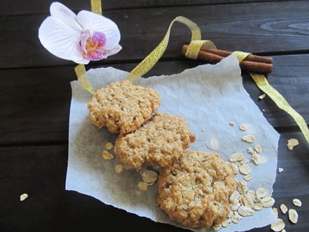 Овсяное печенье из хлопьев «Отменное»
