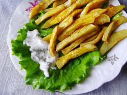 Картошка фри в домашних условиях в микроволновке