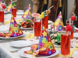 Как украсить детский стол на день рождения