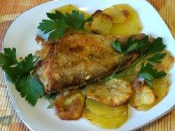 Как приготовить рыбу в духовке с картошкой