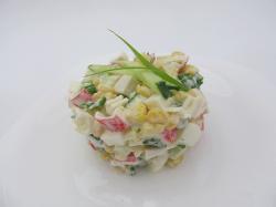 Салат крабовый «Огуречный»