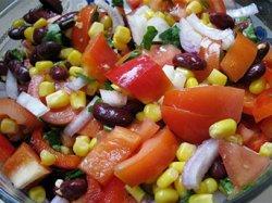 Салаты с консервированной фасолью: рецепты с фото