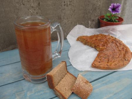 Как приготовить хлебный квас в домашних условиях