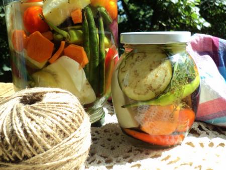 Готовое ассорти на зиму из овощей