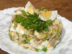 Салаты из печени трески рецепты с фото