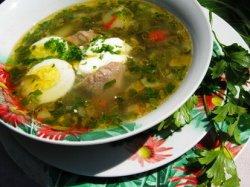 Зеленый борщ с щавелем: классический рецепт