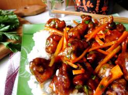Свинина в кисло сладком соусе китайская кухня